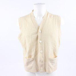 Pánská vesta Ralph Lauren světle žlutá