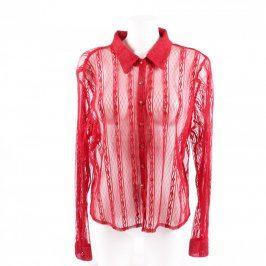 Dámská košile Amaranto odstín červené