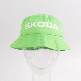 Klobouk Škoda odstín zelené