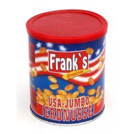 Plechová krabička od arašídů Frank's
