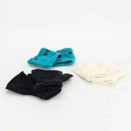 Dětské rukavice bez prstů 3 ks