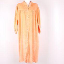 Dámské dlouhé pyžamo Milux odstín oranžové