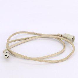 Napájecí kabel C13/C14 bílý délka 150 cm