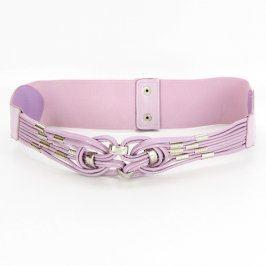 Dámský pásek odstín fialové do pasu