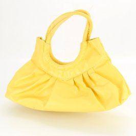 Dámská kabelka odstín žluté a zlaté