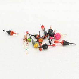 Splávky různé druhy barevné