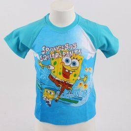 Dětské tričko SpongeBob modré barvy