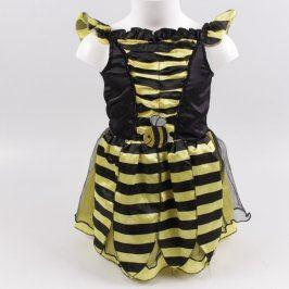 Karnevalové šaty: Žluto-černá včela