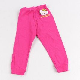 Dívčí legíny růžové Hello Kitty