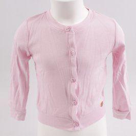 Dívčí svetr Terranova růžové barvy