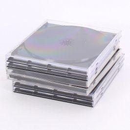 Obaly na CD/ DVD 14x12 cm 6 ks
