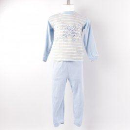 Dětské pyžamo modré barvy se vzorem