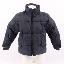 Chlapecká bunda černé barvy