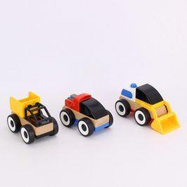 Dětská autíčka IKEA Lillabo 3 kusy
