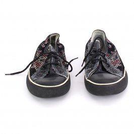 Dámské tenisky Graceland vzorované černé