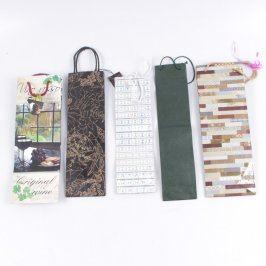 Dárkové tašky na lahve různé motivy