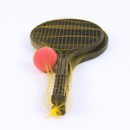 Sada na líný tenis: 2 rakety + míček