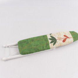 Žehlící prkno na rukávy zelené