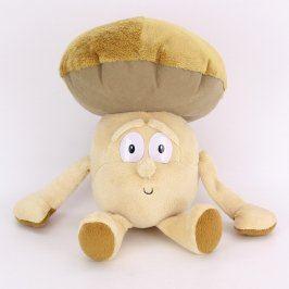 Plyšový houba vykulený hříbek