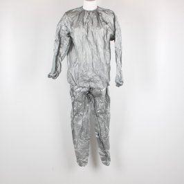 Saunový oblek odstín stříbrný