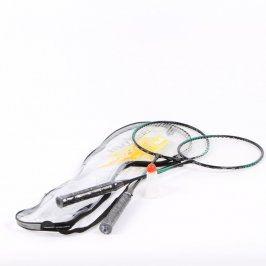 Badmintonový set 2 raket a košíku Brother