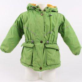 Dětská bunda Upline Clothing zelené barvy