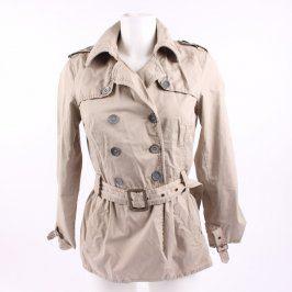 Dámský kabát Clockhouse odstín béžové