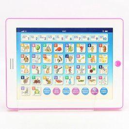 Dětská hračka: Růžový tablet