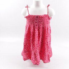 Dětské šaty Girl2girl růžové barvy