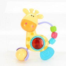 Dětská hračka: Hrající žirafa