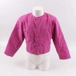 Dětské sako Yell-o růžové barvy