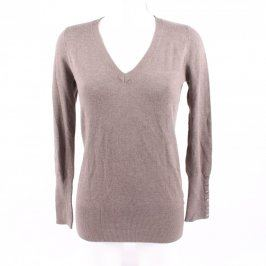 Dámský svetr ZARA odstín šedé a stříbrné