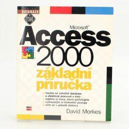 Kniha Microsoft Access CZ 2000