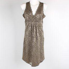 Dámské šaty Bon´a parte odstín šedé