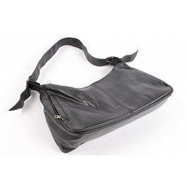 Dámská kabelka černá kožená
