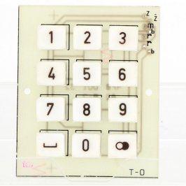Numerická klávesnice k ovládání dveří