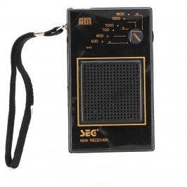 Radiopříjímač SEG GR38 černý
