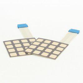 2 x Membránová klávesnice 4 x 4 tlačítka