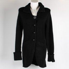 Dámský kabát Attr@ttivo odstín černé