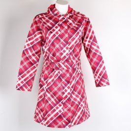 Dámský kabát Toptex odstín červené