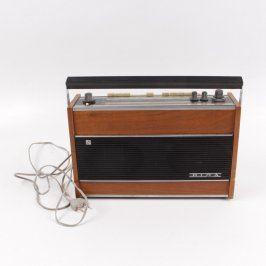 Tranzistorové rádio Riga 103 hnědé