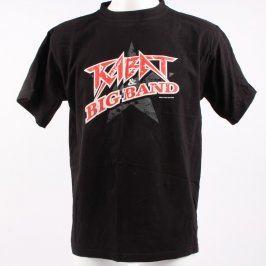 Pánské tričko Kabát & Big Band černé