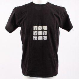 Pánské tričko Fruit of the Loom černé