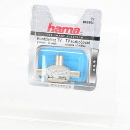 Rozbočovač Hama 42998 1x IEC F / 2x IEC M
