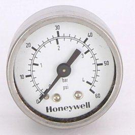 Analogový manometr Honeywell nerez