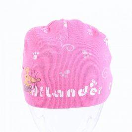 Dětská čepice HiLander růžovobílé barvy