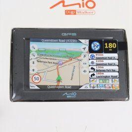 GPS navigace Mio DigiWalker C520 černá