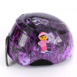Dívčí lyžařská helma Giro fialová