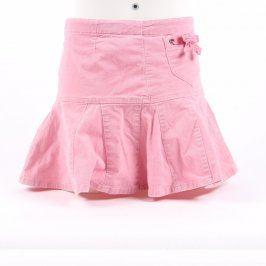 Dětská sukně Next odstín růžové s mašličkami