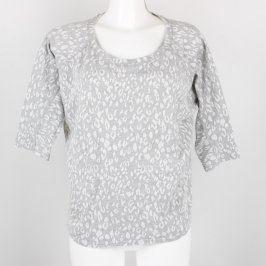 Dámské volné tričko New Look šedé